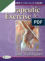 Exercise Therapy Carolin Kisner