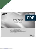Dvde360 User Manual