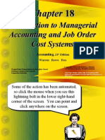 Introduction to Managerial Accounting and Job Order Cost Systems