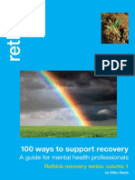 100 Ways to Support Recovery, A guide for mental health professionals  Rethink recovery series