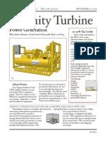 Infinity Turbine Brochure