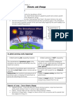 2 - Climate and Change