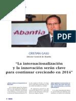 Entrevista Cristian Gaju de Abantia