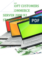 Microsoft Customers using Commerce Server 2009 R2 Standard Edition - Sales Intelligence™ Report