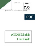 eGLMS Module V7