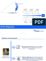 Arrow diagrams in Powerpoint