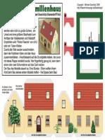 Χαρτοκοπτική - Παραδοσιακή Αυστριακή Κατοικία