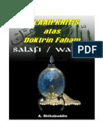 Telaah Kritis Faham Wahabi