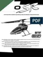 E-flite Heli Blade SR 120 User Manual