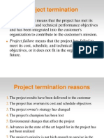 Project Termination