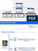 Organizational charts in editable PPT