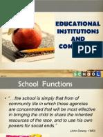 Institusi Sekolah Dan Masyarakat_new