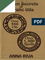 Anna Riva-Golden Secrets of Mystic Oils