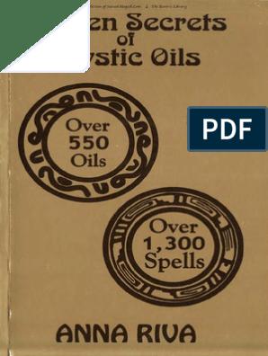 Anna Riva-Golden Secrets of Mystic Oils | Anointing | Rituals