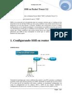 Configuración SSH en Packet Tracer