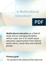 What is Multicultural Education (2)