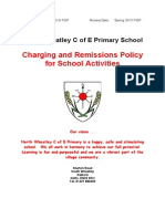 Charging and Remissions Policy for School Activities