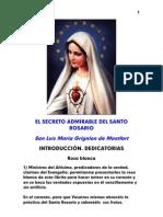 El secreto admirable del Rosario-San Luis Maria de Montfort