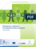 Management Leadership in OSH Guide