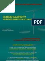 Origenes de la Jurisdicción Contencioso-Administrativa y el Contencioso-Administrativo en Venezuela