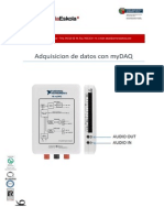 Adquiscion de Datos Con MyDAQ