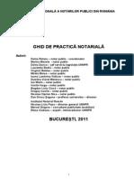 Ghid de Practica Notariala
