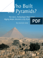 Who Build the pyramids