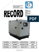 Electrical Power Generator - Agregati - Electrolux Macedonia - RECORD