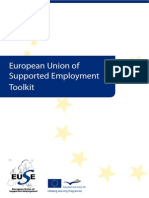 European Supported Employment Toolkit