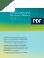 Australian Professional Standards for Teachers