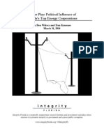 Power Play - Political Influence of Florida's Top Energy Corporations FINAL