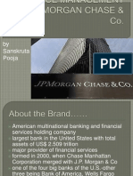 Service Management by Jp Morgan Chase & Co
