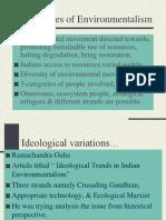 Ideologies of Environmentalism