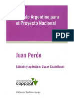Juan Peron - Modelo Argentino