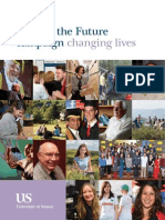 Making The Future 2014 - University of Sussex campaign