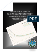 Manual Calculo de Curvas IDF