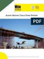 Acrow Bridge Formwork