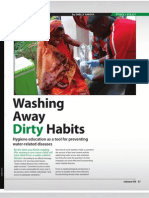 Washing Away Dirty Habits