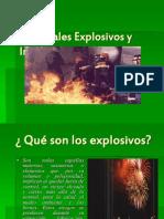 Cap 10 - Materiales Explosivos y Inflamables