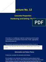 Lecture 12 - Hardened Properties of Concrete- Part 2