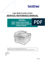 Brother Service Manual 7440N
