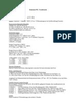 Faustformeln Basiswissen PPL