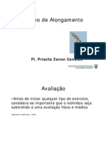 AULA - Treino de Alongamento - Priscila - In