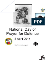 National Defence Prayer Booklet (Australia)
