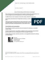 Utrecht Workshop Report of 20 February 2014