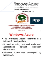 10- Windows Azure