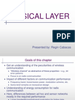 Physical Layer - Wireless Sensor Networks