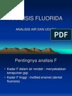 ANALISIS FLOURIDA