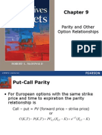 Chapter 9- Parity and Other option relatinship.ppt