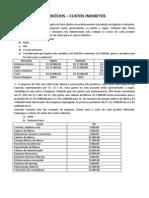 Aula 05 - Exercícios - Custos CIF